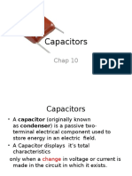 Chap10 Capacitors