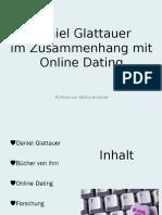Daniel Glattauer Im Zusammenhang Mit Online Dating