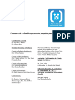 Evaluaci Oacuten y Preparaci Oacuten Prequir Uacutergica en Pediatr Iacutea