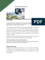 Evolución Del Sistema Financiero Internacional