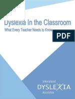 dyslexia in the classroom-handbook