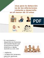 Guía Técnica Para La Detección de Alteraciones Del Menor de 10 Años