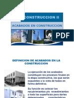 Acabados en Construcción