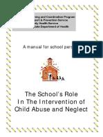 school reporting manual 07