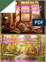 Sfârsit de Toamnă, De v. Alecsandri, Cls a v-A