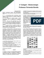 3 Colegial Exercicios Extras Biotecnologia