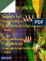Yepo Yetai Tai