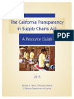 CA Transparency Act