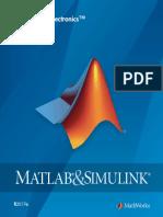 Simelectronics Matlab Userguide