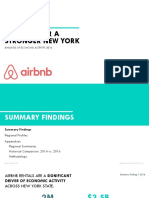 Airbnb Economic Activity Report, New York State HR&A