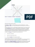Plano Propiedades Ecuaciones
