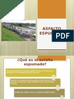 ASFALTO-ESPUMADO