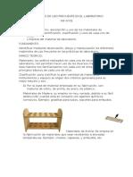 INF N05 Materiales de Laboratorio
