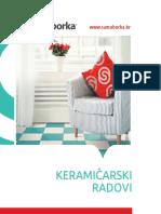 Brosura Keramicki Radovi 14598