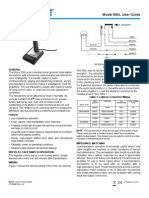 Shure Microphone 550L User Guide