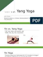 yin vs  yang yoga