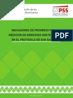 GT San Salvador - Indicadores de Progreso
