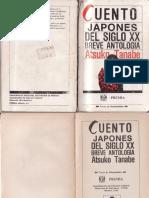 Tanabe, Atsuko - Cuento Japonés Del Siglo XX. Breve Antología
