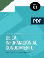 2.- MÓDULO 1 - De La Información Al Conocimiento - GUIA de ESTUDIO 1