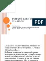 Por qué leer los clásicos.pptx