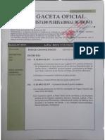 D.S. 3161 Incremento Salarial