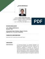 Hoja de Vida Andres Murcia