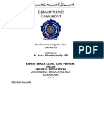 Ppt Case TIFOID