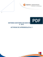 Actividad 0 BDD