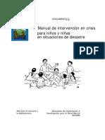 Interven Crisis Niños Desastres