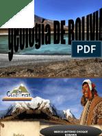 Geologia de Bolivia