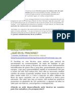 Ensayo Del Fracking- Admon