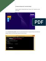 Eduroam Connection Settings Windows 8 Windows 8-1-18022016