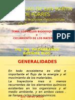 LOS CICLOS BIOGEOQUÍMICOS  CORREGIDO