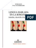 Koch & Oesterreicher 2007 Lengua hablada en la Romania.pdf