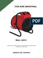 Tec CE04203 Manual Calefactor LXDY3