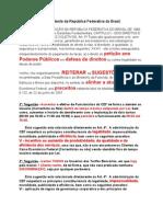 Reiteração Presidência EM DEFESA DE DIREITOS Alinhar CEF Estatutos