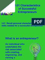 3.01 Successful Entrepreneurs