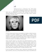 Biografia Andy Warhol