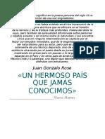 Juan Gonzalo Rosé Por Marco Matos