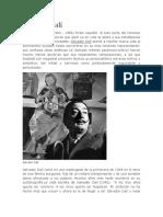 Biografia Salvador Dalí