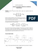 Control Moderno - Construir la planta de un sistema a partir de su función de transferencia