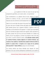 Orientaciones políticas del Comandante en encuentro con Diego Armando Maradona (Rompimiento de relaciones con Colombia)