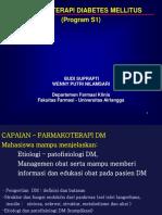Farmakoterapi Diabetes Mellitus Part 1