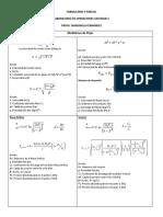 Formulario II Parcial