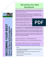 Becoming Your Best Newsletter - July 2010