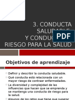 Conducta Saludable