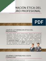 Formación Ética Del Futuro Profesional