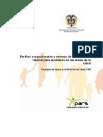 Perfiles ocupacionales y NCL para auxiliares áreas de salud - Colombia.pdf