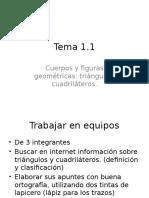 Tema 1.1 Triangulos y Cuadrilateros
