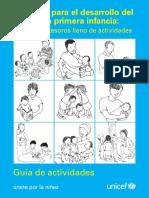Conjunto para el desarrollo del niño en la primera infancia. Un cofre de tesoros lleno de actividades. Unicef.pdf